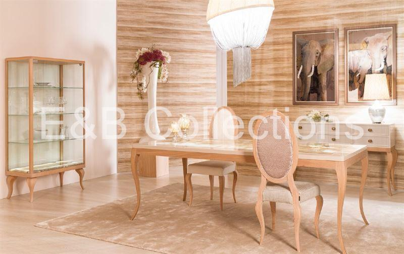 Natural Chic Dining Room Ambiance - Imagen 1